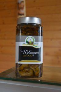 Conserve - melanzane sott'olio extra vergine di oliva