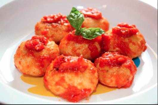 """Ricetta """"Pallott Cacio e Ov"""" (Polpette formaggio e uova)"""